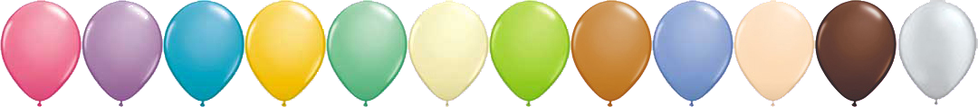 Balloon Mania - Fashion Balloon Colors